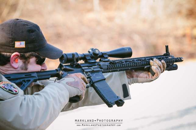 Magpul Offset BUIS Photo Credit: Markland Photography