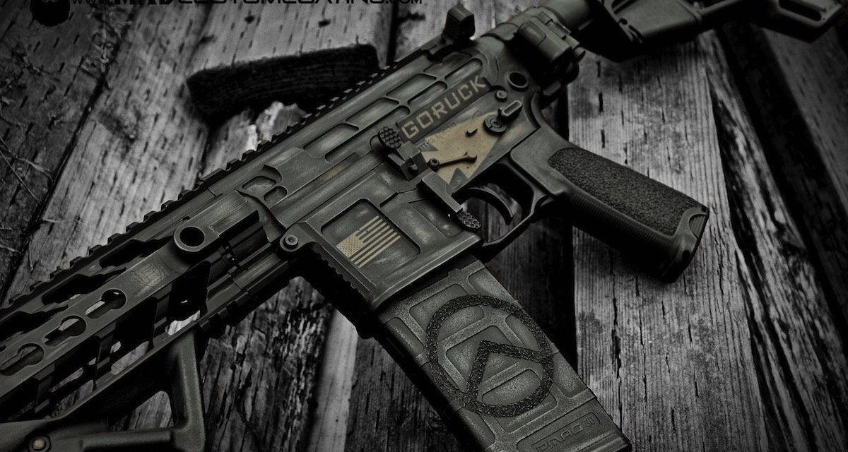 Free Mad Custom Pistol or Rifle Coating