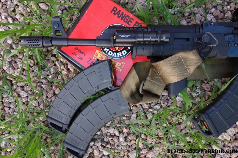 SLR Synergy Comp with Magpul MOE Arisaka Mini Scout Echo93 sling on RAS47