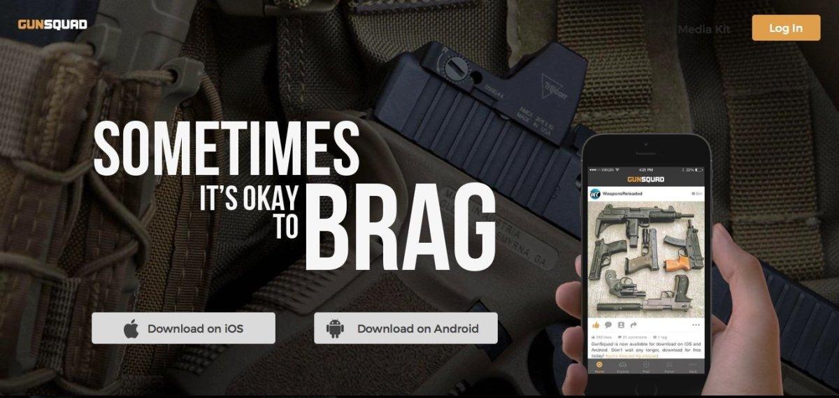 Gun Sqad Instagram App