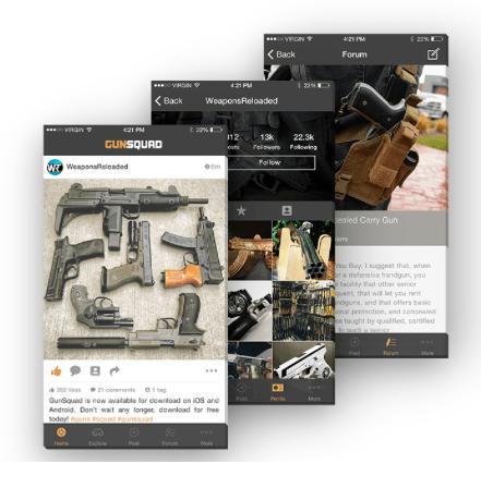Gunsquad App