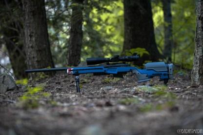 Atlas Bipod on Surgeon Rifles 6.5 Creedmoor