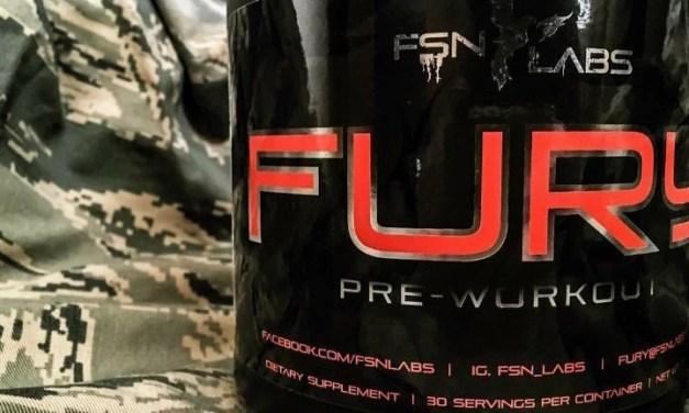 FSN Labs FURY Pre-Workout Review