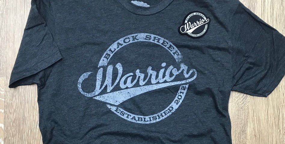 Black Sheep Warrior Vintage T-Shirt/Patch Now Available!