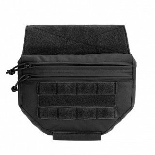 Drop Down Utility Pouch Black