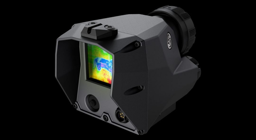 Sig Echo1 Thermal Sight Picture