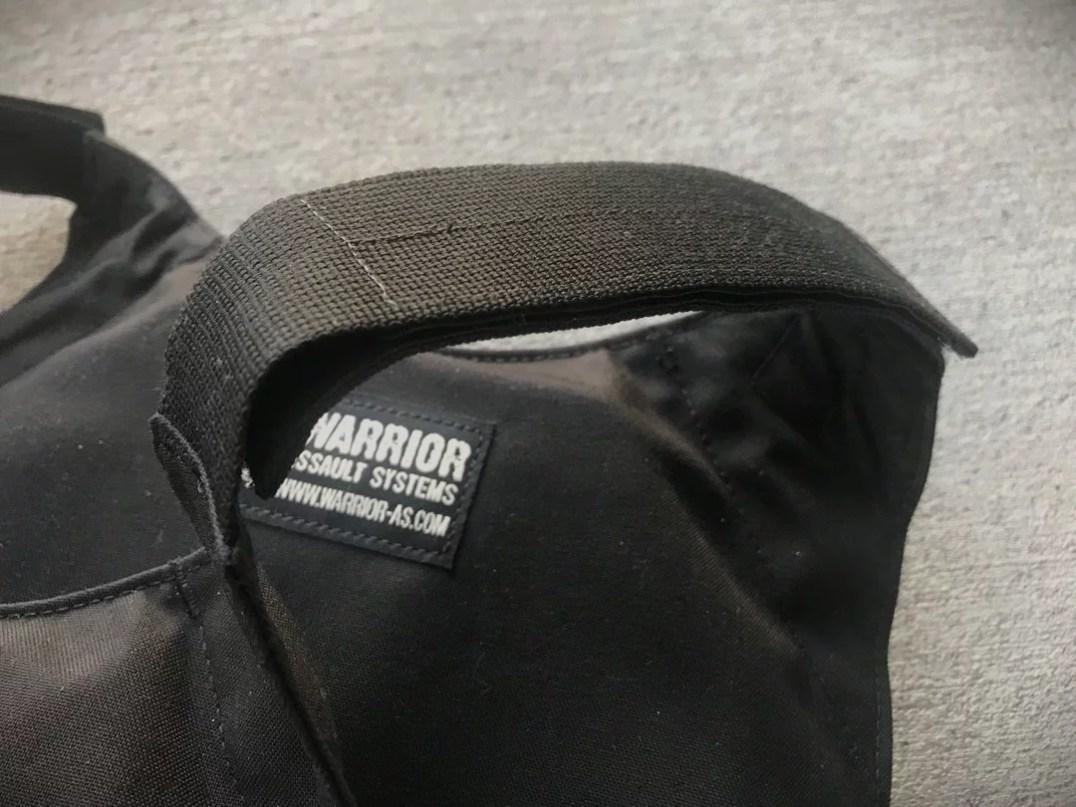 Covert Plate Carrier Shoulder Straps