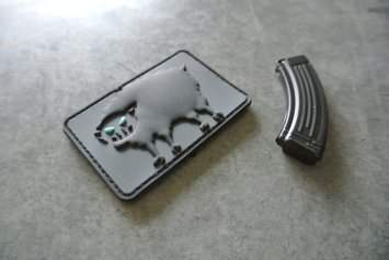 Goat Gun Ak-47 mag and patch