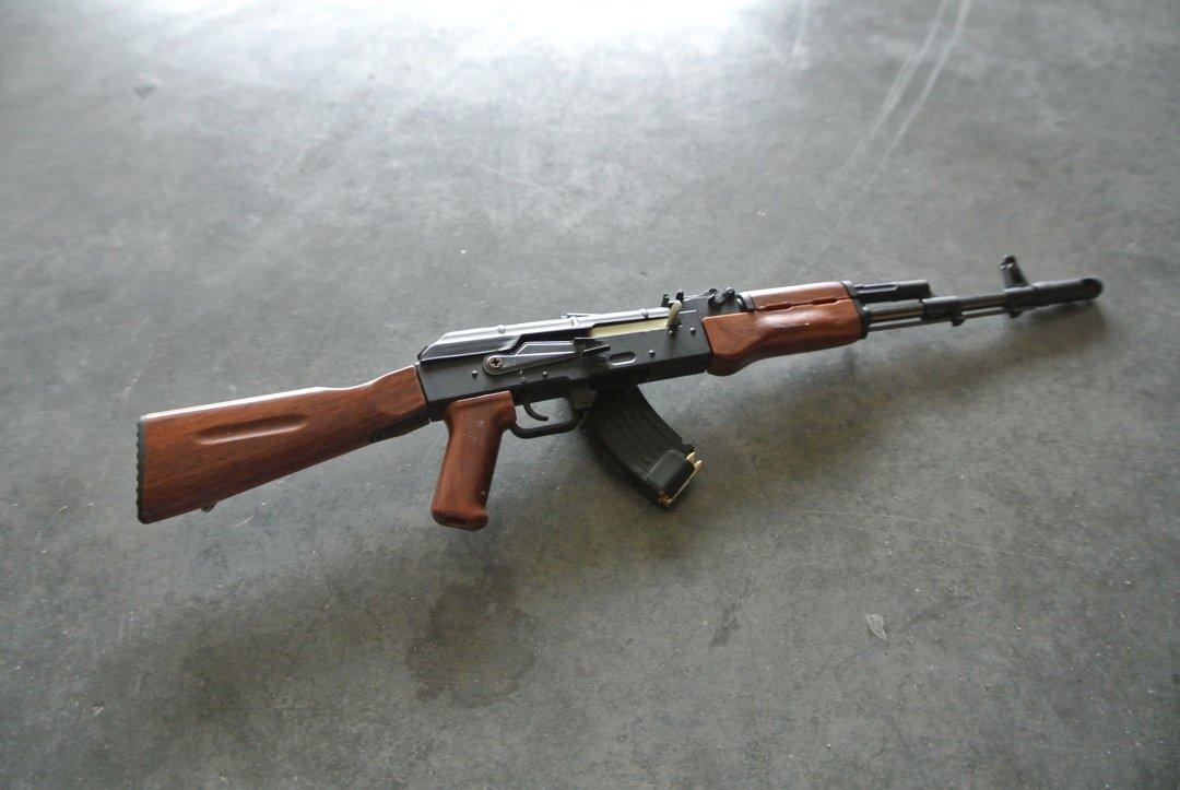 Goat Gun Ak-47 side view review