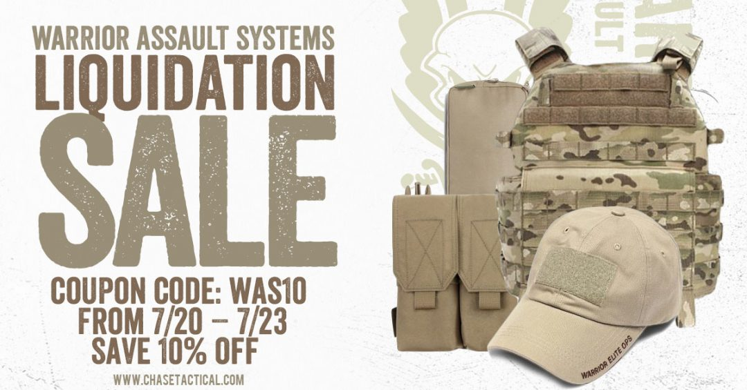 Liquidation - Warrior Assault Systems Gear
