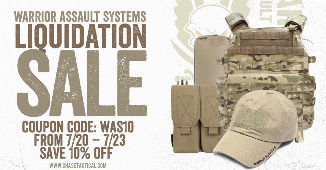 Liquidation - Warrior Assault Systems Gear