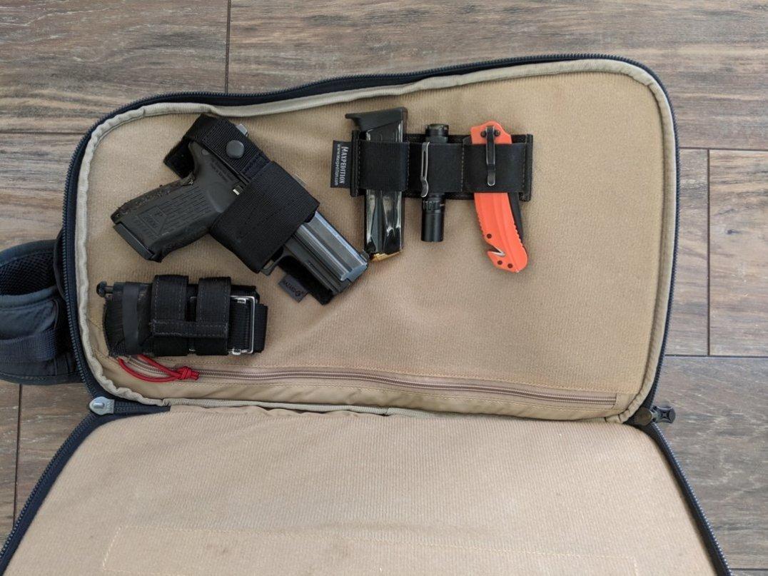 Vertx EDC Commuter Sling Bag Review pics