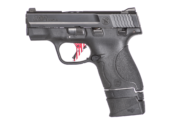 Custom laser texture to ensure a positive grip and aesthetically match with the pistol
