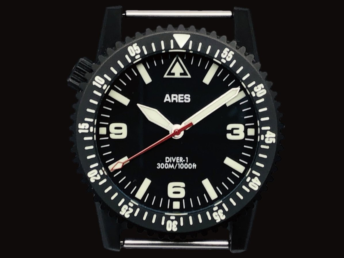 Ares Watch Co DIVER-1B PVD