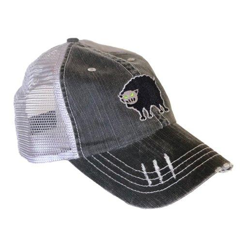 BSW Logo Distressed Trucker Cap