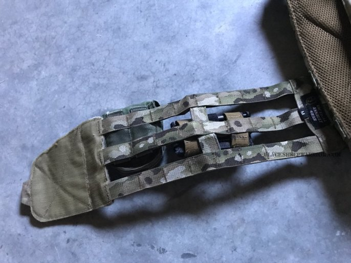Tactical Assault Gear Skeletal Cummerbund