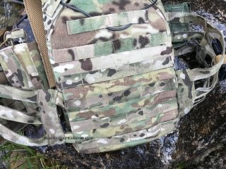 Vanguard Plate Carrier Velcro On back