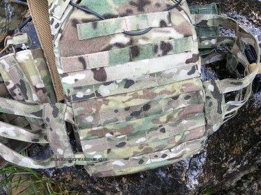 Vanguard Plate Carrier Velcro On back