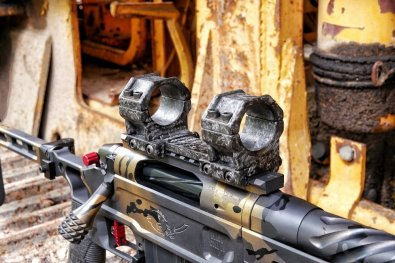 One Piece Carbon Fiber Scope mOunt