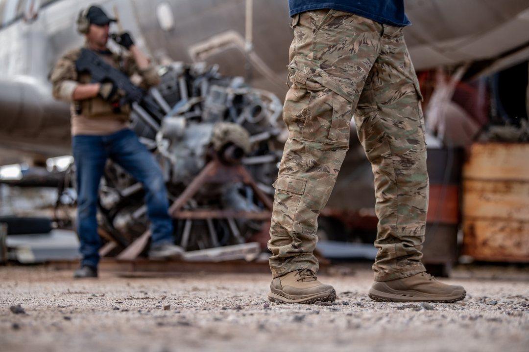 lalo Rapid Assault boots tan