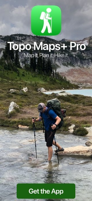 Best Topo Map App Backpacking