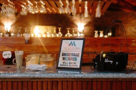 Bar Area Wedding Venue