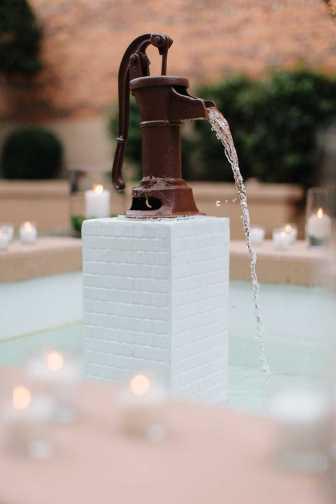 Blacksmith Shop fountain Feature
