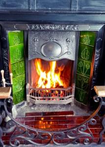 Fireplace at Blacks of Chapel Street