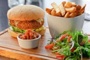 Delicious Veggie Burger