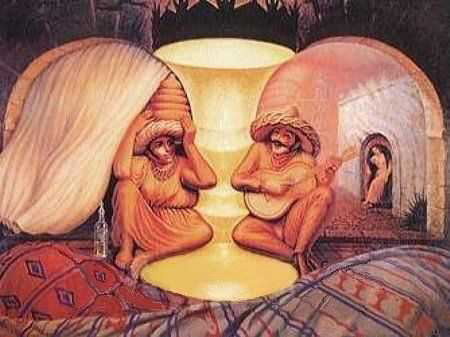 couple illusion