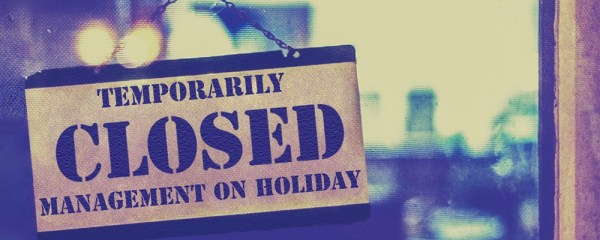 Closed for Summer Vacation (Aug 20-26)