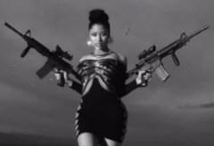 Fake gangsta creation Nicki Minaj wants you believe she is some kind of militant revolutionary.