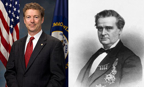 """Randal Howard """"Rand"""" Paul (born January 7, 1963) is an American politician and physician. Since 2011, Paul has served in the United States Senate as a member of the Republican Party representing Kentucky. J. Marion Sims, born James Marion Sims was a physician and a pioneer in the field of surgery, considered by some as the father of modern gynecology."""