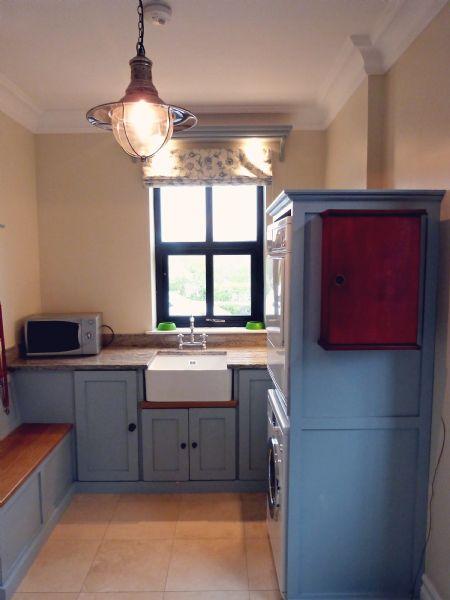 kitchen island with bar seating pot filler karen + russell