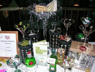 Blacktie Photos Oustanding Silent Auction Martini Set Up