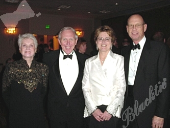 Blacktie  Photos  Elizabeth and Joe Blake President of