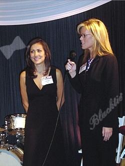 Blacktie  Photos  Tammy Vigil and Stacey Donaldson get