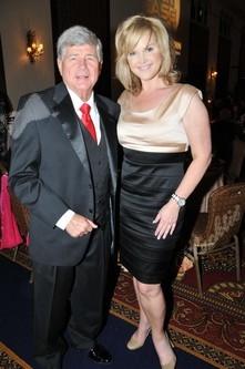 Blacktie   Photos   Bob Leider with Allison Waggoner