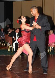Blacktie | Photos | Twan Russell & Dance Partner - Lisa Thomas