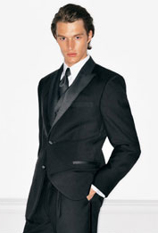 Dressing Down A Tuxedo With Long Black Tie Is Another Solution For Men Unsure Of What To Wear Optional Event