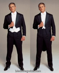 Black Tie Guide | White Tie: Tailcoat & Trousers