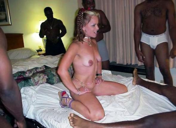 Wife Gangbang Black Cocks