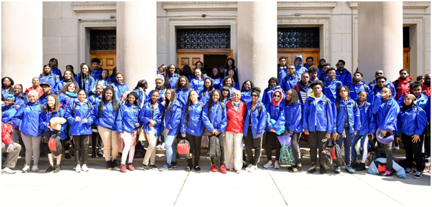 Black McDonald's Operators Association Support Chicagoland Students on the 21st annual PUSH Excel HBCU College Tour