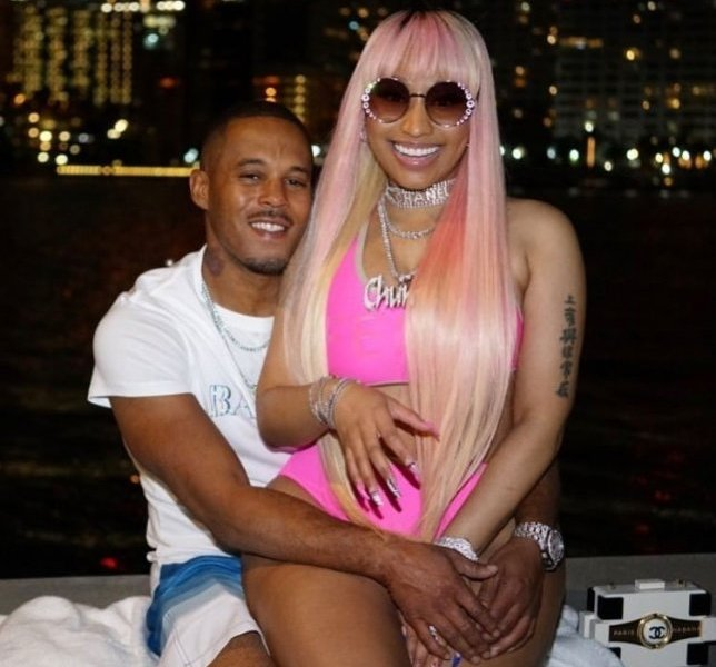 Nick Minaj Reveals She and Her Boyfriend Kenneth Petty got their Marriage License