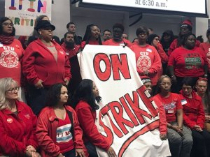 Chicago Teachers Not Only want More Support for Themselves but for Their Students