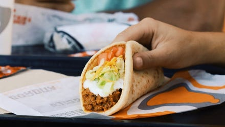 Taco Bell launches 30-day subscription service that gives you a free taco each day