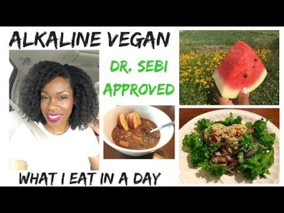 What I Eat Alkaline Vegan In A Day Dr Sebi Approved Electric