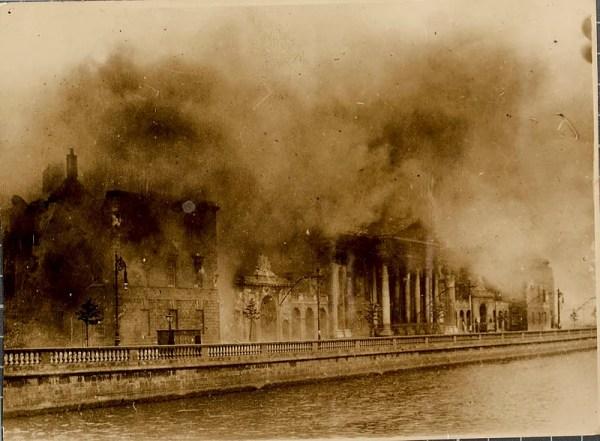 Destruction of the Public Records Office