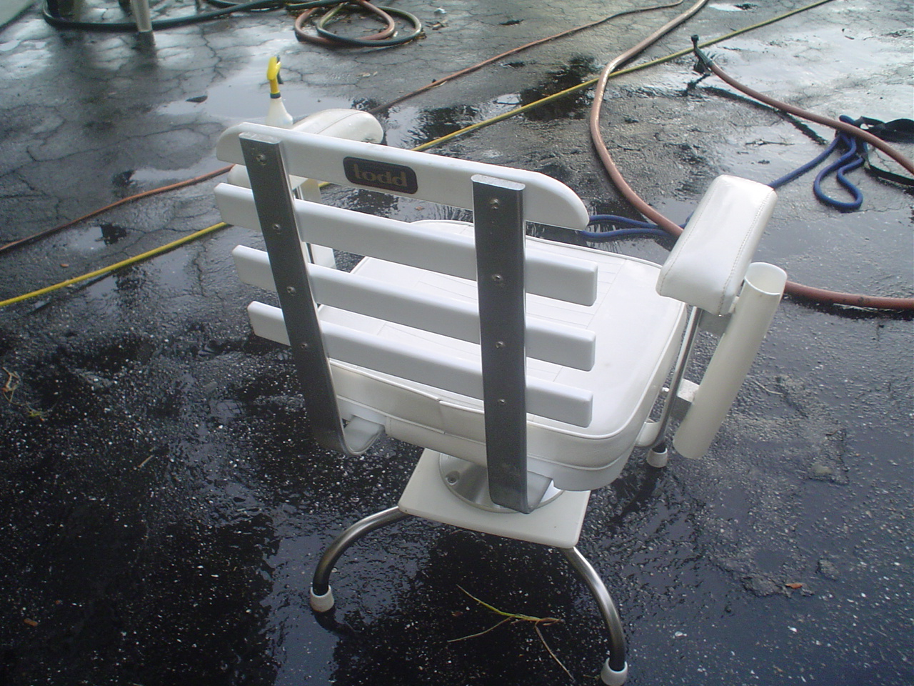 fishing chair gimbal bath lift chairs canada todd deck fighing the hull truth boating and