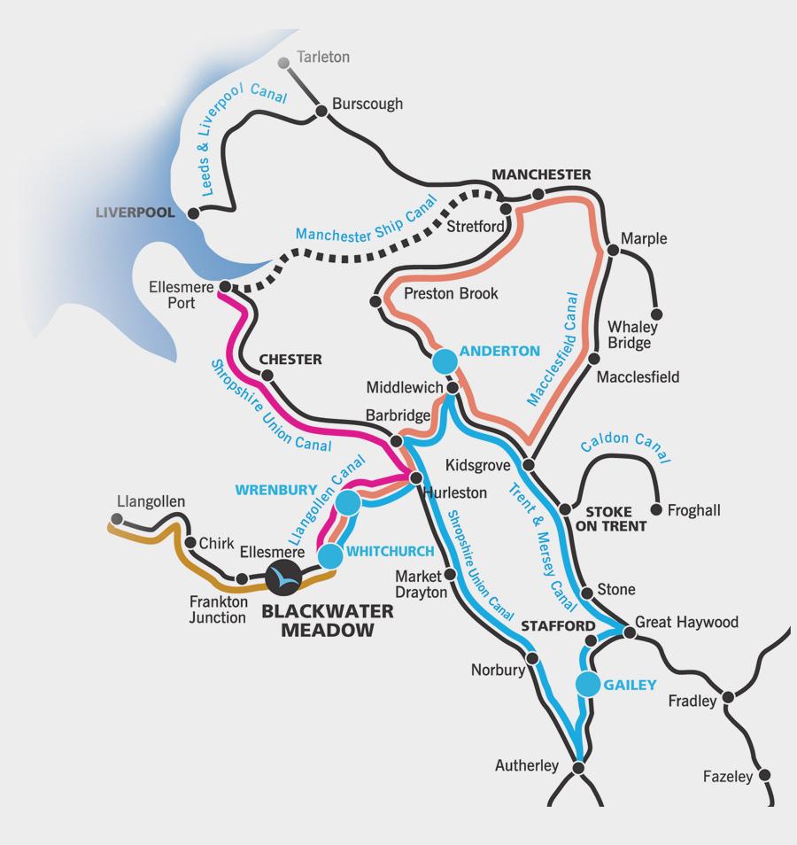 Alvechurch Canal Routes
